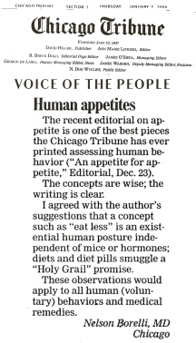human-appetites